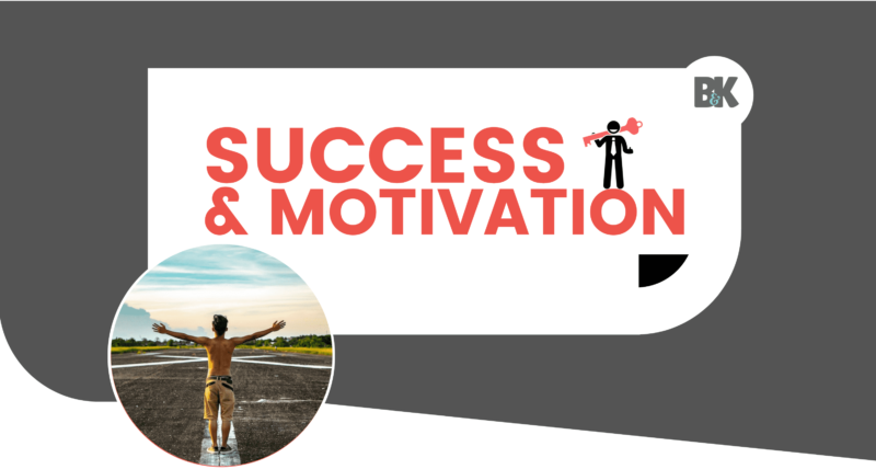 success and motivation header banner